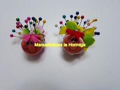 alfiletero miniatura figura mariquita paso a paso ideas faciles para neg...