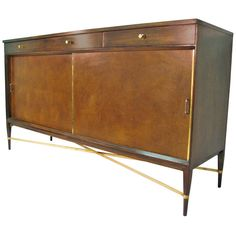 Mid Century Modern Credenza By Paul McCobb   From a unique collection of antique and modern credenzas at http://www.1stdibs.com/furniture/storage-case-pieces/credenzas/