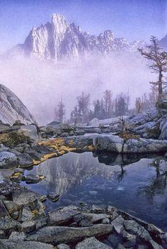Leprechaun Lake -- part of enchantment lakes hike, 18 miles round trip
