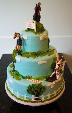 Great Horse Country Cake