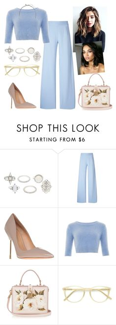 """""""Untitled #1430"""" by dani-gracik on Polyvore featuring Charlotte Russe, Christopher Kane, Kurt Geiger, Collectif, Dolce&Gabbana, Ace, Banana Republic and Dunn"""