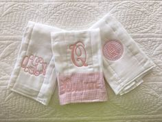 Monogrammed baby onesie set two personalized baby onesies twin monogrammed baby onesie set two personalized baby onesies twin baby gift baby shower gift for twins monogram baby bodysuits by thegiftingspot o negle Image collections