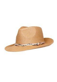 2b | Chloe Straw Panama Hat - Accessories
