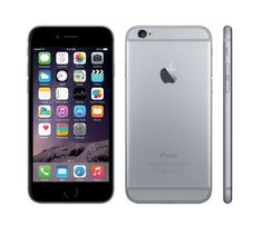 iPhone 6 in Space gray with 16 GB memory. Simply bigger, and better in every way, more powerful, with a smooth design, bigger screen, but fit perfectly in one hand,  smooth metal surface and HD retina display. http://www.zocko.com/z/JIYGm