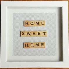Home Sweet Home 💗 I love these colours together 😍 Available in range of colours to suit your colour scheme. for frame Color Schemes, Sweet Home, Colours, Frame, R Color Palette, Picture Frame, House Beautiful, Colour Schemes, A Frame