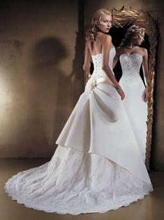 corset wedding dressess
