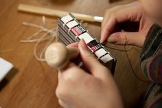Exposed stitching, weaving technique