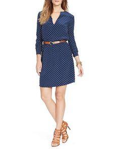 Lauren Ralph Lauren Polka Dot Dress #130 #LOTD #taylorswiftandlilyaldridge