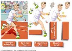 Badminton Dude.