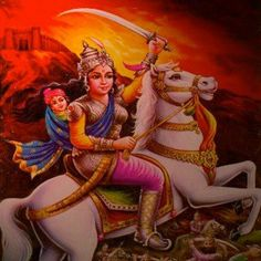 Lakshmi Bai, the Rani of Jhansi was the queen of the Maratha-ruled princely state of Jhansi, situated in the north-central part of India. She was one of the leading figures of the Indian Rebellion of 1857 and for Indian nationalists a symbol of resistance to the rule of the British East India Company in the subcontinent.
