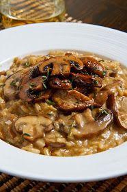 Closet Cooking: Mushroom Risotto