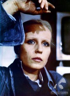 Krystyna Janda - CZŁOWIEK Z ŻELAZA (dir. Andrzej Wajda, 1981). #janda #wajda #polishactress