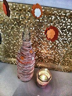 Fimo e Feltro...l'arte tra le mani: Twin set da tavolo -arancio