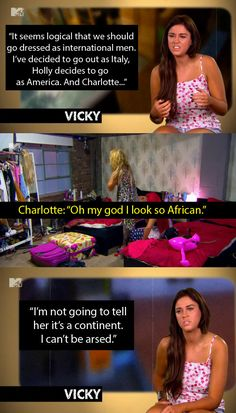 "When everyone dressed up for a night out. | 19 Lines From ""Geordie Shore"" That Nobody Says In Real Life"