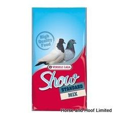 Versele Laga Show Standard All-Round 20kg Versele Laga Show Standard All-Round is a complete feed suited towards a wide range of pigeons designed for showing.
