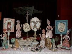 past vendor - love Dolls And Daydreams, Craft Organization, Jewellery Display, Past, Craft Projects, Illustration Art, Crafts, Display Ideas, Painting
