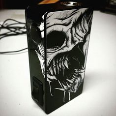 "JWraps "" Dripping Skull"" (S454) custom printed wrap. See all 700+ wrap designs for over 400+ mods on our website. ohsnapproducts.com"