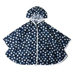 Topten10 KIDS UNISEX Pattern Cape Rain Coat FAM #Topten10 #RainGear #Everyday