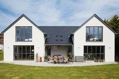 Potton timber frame house