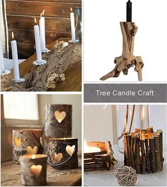 Tree Candle Craft