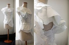 Kindest Cut: Garment designed from Hyperbolic tessellation