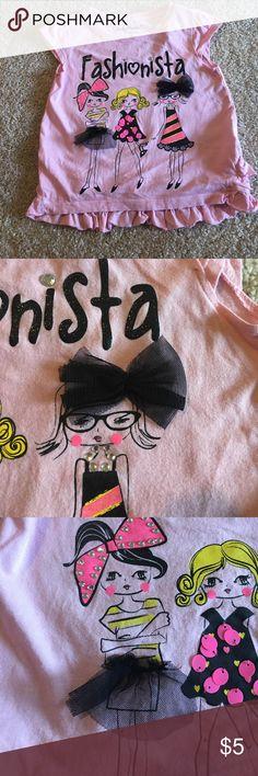 🆕 Candy Hearts Shirt Fashionista Print Shirt Candy Hearts Shirts & Tops Blouses