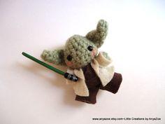 Yoda Amigurumi por AnyaZoe en Etsy