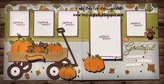 FALLING FOR YOU 14 Page Workshop and Consultant Cutguide Beautiful fall colors, pumpkins, leaves, and specialty cuts to create this 14 . Scrapbook Images, Scrapbook Designs, Scrapbook Sketches, Scrapbook Page Layouts, Baby Scrapbook, Scrapbook Albums, Scrapbook Cards, Scrapbooking Ideas, Scrapbook Generation