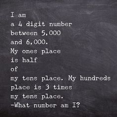 A little number puzzle to start the day: Math Tutor, Math Literacy, Homeschool Math, Math Teacher, Math Classroom, Fun Math, Teaching Math, Math Enrichment, Numeracy