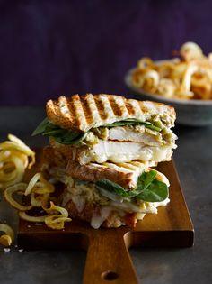 Chicken Panini with Artichoke Parmesan Spread   Williams-Sonoma