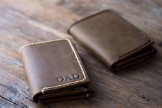 Travel in style with very own handcrafted leather travel wallet. Designed to hold your cash, credit cards, passport, plane tickets and documents.