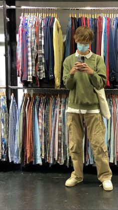 Indie Outfits, Dope Outfits, Retro Outfits, Vintage Outfits, Stylish Mens Outfits, Cute Casual Outfits, Mode Streetwear, Streetwear Fashion, Aesthetic Fashion