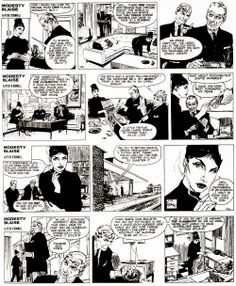 Modesty Blaise - The Long Lever (6)  Written by Peter O'Donnell and drawn by Jim Holdaway