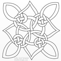 Free Freeform Celtic Knot Templates for tangling, coloring, doodling. These are samples from the Freeform Celtic Knot Design class Celtic Mandala, Celtic Quilt, Celtic Art, Celtic Dragon, Celtic Symbols, Celtic Knots, Celtic Images, Celtic Knot Designs, Celtic Patterns