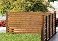 Image result for wooden garden fencing