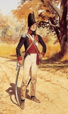 NAP- America: Company officer of the New York State Militia, in 1812-1813, by H. Charles McBarron, Jr.