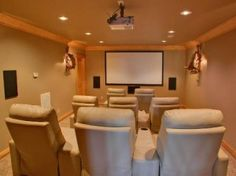Houston Home Theatre Room Design, Setup, & Installation.