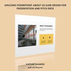 Meet Kaysar Ibne Nazrul Islam, PowerPoint Presentation and Pitch Deck Designer. Slide Design, Deck Design, Professional Presentation, Real Estate Investor, The A Team, Pitch, This Is Us, Template, Business