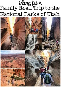 Ideas for a Family Road Trip to the National Parks of Utah! - Last summer our family took an amazing family road trip to the incredible National Parks of Utah- a - Bryce National Park, Capitol Reef National Park, National Parks, Road Trip Destinations, Vacation Trips, Vacation Ideas, Utah Vacation, Vacations, Road Trip Packing