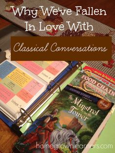 Why We Chose Classical Conversations (With Some Confessions) - Home - Homegrown Learners