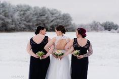 Hääkuvaus / Wedding photography.  Winter Wedding.  Linnan Juhlakuva Bridesmaid Dresses, Wedding Dresses, Wedding Photography, Winter, Fashion, Bridesmade Dresses, Bride Dresses, Winter Time, Moda