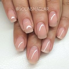 Love natural nails Square - Pixie nails = All the time!