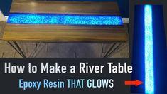 This Sinker Cypress epoxy resin river glow table is for sale. The epoxy resin river table has embedded fire glass. This sinker cypress table is gorgeous.