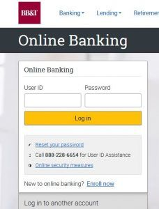Bb T Reset Password Reset Password Online Banking Banking Services