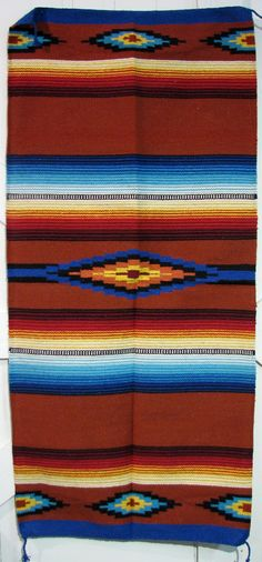 """SOUTHWEST RUG 100% ACRYLIC MEASURES 30"""" X 60"""" ITEM THAT YOU SEE IN PICTURE IS THE ONE YOU WILL RECEIVE WHEN I SAY SIZE AND COLOR MAY VARY,COLORS IN PICTURES MIGHT BE BRIGHTER OR DIMMER AND SIZE MIGHT"""