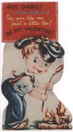 hot dog Be My Valentine!
