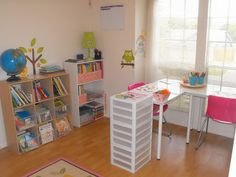 Come and Tour our NEW Homeschool Room! - Creative Learning Fun