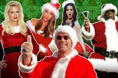 Stars Dressed as Santa: Miley Cyrus, Jake Gyllenhaal, Katy Perry, More