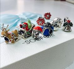 Best Christmas gift for you! How cute are these charms! Gotta have these for you collection!