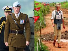 """Prince Harry went to Angola on Saturday on """"a personal and private visit,"""" the Palace said. Harry is retracing some of his mother Diana's trip in 1997. (via People; photo: Getty; AP)"""